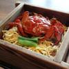 ホテル樋口軒 - 料理写真:2013/09/02再訪 川蟹の蒸籠蒸し