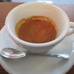 コーヒーファクトリー - ドリンク写真:250えん ダブルエスプレッソ2013.8