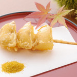 天ぷら ひさご - ミニジャガの天串