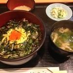 割烹 若竹 - 漬け丼