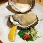 砂々良 - でかい岩牡蠣は美味しい