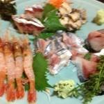 砂々良 - 刺身盛り、秋刀魚  鯖  いけます。