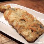 本格手打うどん 麺むすび - 鯵の天ぷら
