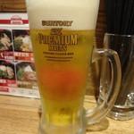21073862 - 生ビール:450円