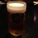 21075343 - 生ビール ブラウマイスター 550円。