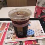 マクドナルド - ドリンク写真:アイス珈琲(M) 150円