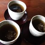 びぃcafe - 食後に頂いたお茶です