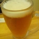 タンメンしゃきしゃき - ヱビスビール