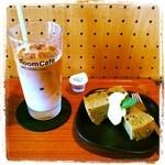 Room Cafe - 抹茶シフォン アイスカフェオレ
