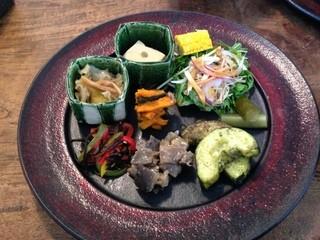 YATSUDOKIYA CAFE - 本日のお惣菜