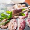 かもふく - 料理写真:鴨焼きしゃぶ