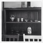 甘味喫茶 侘助 - 店内の棚。