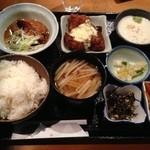 螢の火 - 和定食(900円)