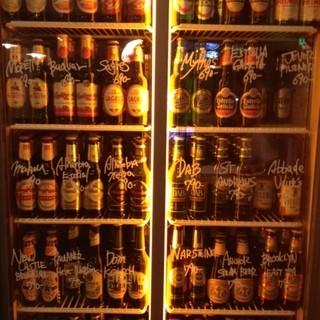 欧州・北米のビール50種類!!