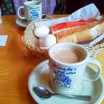 コメダ珈琲店 - 2013.9.5 定番のカフエオーレ