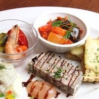 淡路のビストロ manki - 前菜盛り合わせ