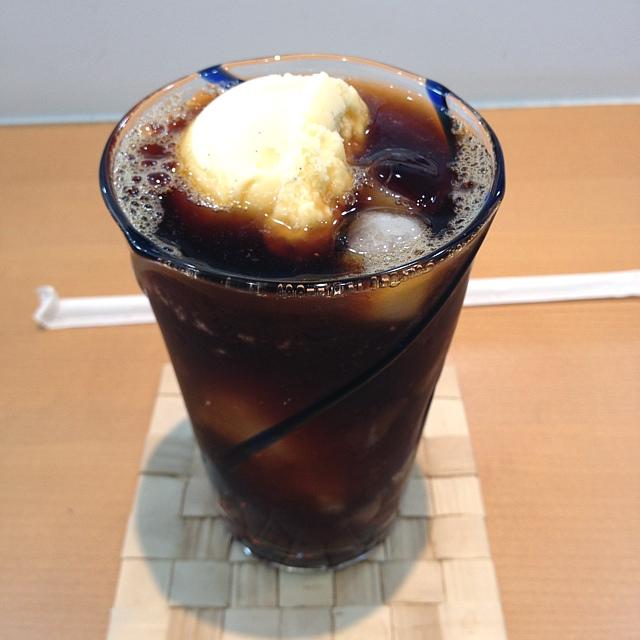 カフェカホン - コーヒーフロート