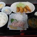 うさみ茶屋 - 地魚ランチ800円