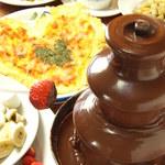 GAMバル - ご予約でチョコレートファンテンも出来ます!