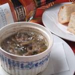 GAMバル - 牡蠣とマッシュルームのアヒージョ