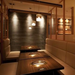和牛塩焼肉ブラックホール 新宿三丁目店 - 歓送迎会にぴったり完全個室