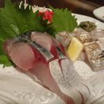 21088672 - サバと太刀魚のお造り