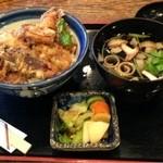 守茂 - 穴子天丼  ¥950