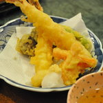 漁人市場とっとっと - 殿様御膳の天ぷら