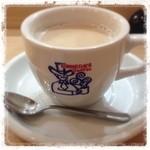 コメダ珈琲店 - そしてこれ。 ミルクコーヒー420円。