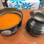 一八家 - スープ割り