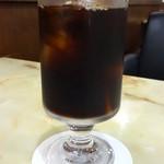 喫茶室マロニエ - アイスコーヒー:350円