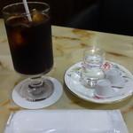 喫茶室マロニエ - アイスコーヒー