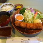 21096902 - 棒カツ定食1600円