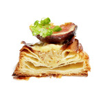 Boulangerie gout - 生いちじくのデニッシュの断面 '13 9月上旬