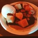 阿佐ヶ谷ロフトA - 今日の晩ご飯。 豪さんのスペシャルパンケーキ600円。
