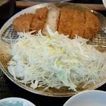 とんかつかつきち - 上ロースカツ定食 ¥1365