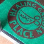 チーズケーキ CAFE MAGY - お店のロゴはカップとハサミのコラボ!皆さまお気づきでしたか??