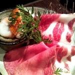 21102408 - 牛タン 蟹 イベリコ豚