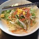 ダイニング小松家 - セットのサラダ