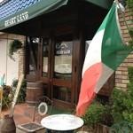ハートランド - イタリアフラッグがはためく可愛い外観☆
