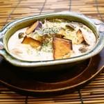 和 Dining なごみ - 【秋限定】ほくほくさつま芋とキノコのクリームグラタン風