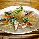 和 Dining なごみ - 【旬の秋刀魚のカルパッチョ】秋刀魚の旨味が引き立つ逸品