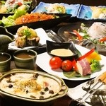 和 Dining なごみ - 食べ放題+季節料理10品!秋の味覚登場♪旬な食材を使用したメニューの数々をお楽しみください◎
