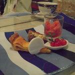 自然派イタリアン E's Cafe Mira-clue - ドルチェの盛り合わせ