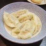麺工房 武 - 水餃子(350円)