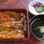 うなぎ割烹力 - 料理写真:うな重特上+肝吸い2450円