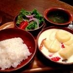 ガテモタブン - 2013年9月6日 2回目 Cケワダツィランチ850円
