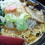 21125578 - 野菜味噌ラーメン+トッピング法蓮草