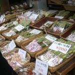 玉力製菓 - 店内