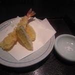 笊そば 蕎すけ - 「天ぷら」